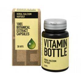 Vitamin-Bottle Koral kalcium 30 kapslí