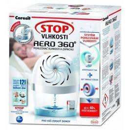 Ceresit Stop vlhkosti Aero 360° bílý přístroj s tabletou