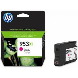 HP 953XL purpurová originální inkoustová kazeta s vysokou výtěžností (F6U17AE)
