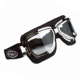 Held motocyklové brýle  CLASSIC, stříbrný rám