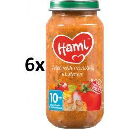 Hami Zeleninové ratatouille s kuřetem - 6 x 250g