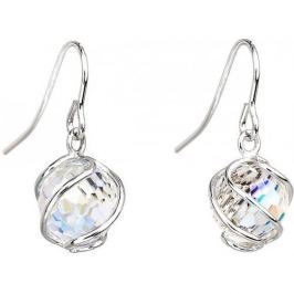 Preciosa Náušnice Romantic Beads Crystal AB 6716 42 stříbro 925/1000