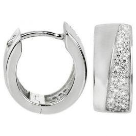 Silver Cat Stříbrné náušnice se zirkony SC220 stříbro 925/1000