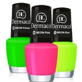 Dermacol Neonový lak na nehty 5 ml (Odstín č.23 Mai Tai)