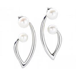 Morellato Romantické náušnice s pravými perlami Foglia AKH16