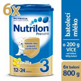 Nutrilon 3 Pronutra Vanilla - 6 x 800g