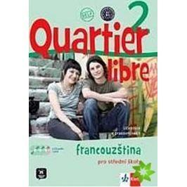Bosquet a kolektiv M.: Quartier libre 2 - učebnice + PS + CD+ DVD + časopis La revue de jeunes