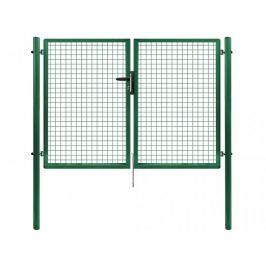 Dvoukřídlá brána PILGATE poplastovaná Zn+PVC 4020×1450 mm