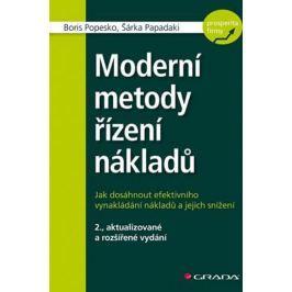 Popesko Boris, Papadaki Šárka,: Moderní metody řízení nákladů