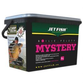 Jet Fish boilie Mystery 3 kg 20 mm frankfurtská klobása/koření