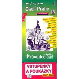Okolí Prahy 1. - Průvodce po Č,M,S + volné vstupenky a poukázky
