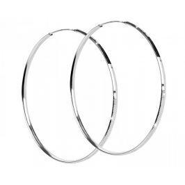 Brilio Silver Ozdobné náušnice kruhy 431 158 00042 04 - 6,53 g stříbro 925/1000
