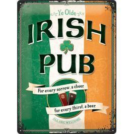 Postershop Plechová cedule Irish Pub