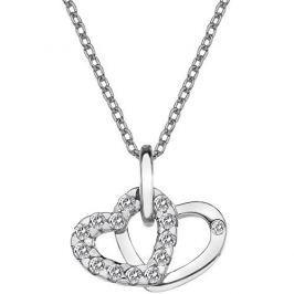 Hot Diamonds Přívěsek Hot Diamonds Valentines white topaz DP682 stříbro 925/1000