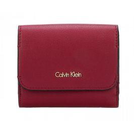 Calvin Klein Dámská peněženka Metropolitan Medium Wallet Red/Dahlia Pastel Pink