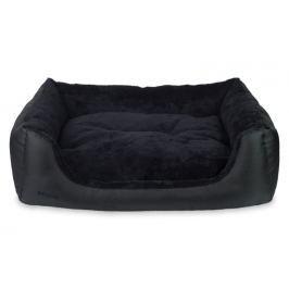 Argi Pelech pro psa obdélníkový s polštářem - Aspen - černý vel. S
