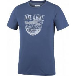 Columbia Laney Hill Short Sleeve Tee Carbon S