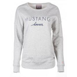 Mustang dámská mikina Fancy XS šedá