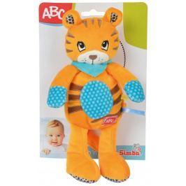 Simba Plyšové zvířátko s chrastítkem 26 cm, tygr