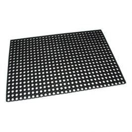 FLOMAT Gumová vstupní čistící rohož na hrubé nečistoty Honeycomb - 120 x 80 x 1,6 cm