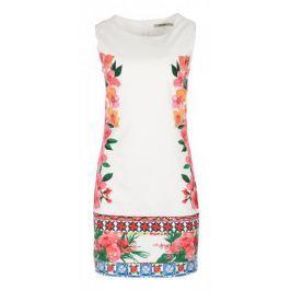 Desigual dámské šaty Cher 34 bílá