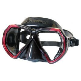 Beuchat Maska X-CONTACT 2, černá/červená