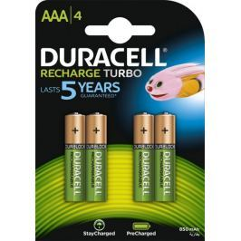 Duracell StayCharged, 850mAh, AAA, 4ks