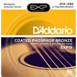 Daddario EXP19 Kovové struny pro akustickou kytaru