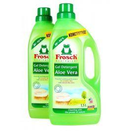 Frosch Eko Prací gel na jemné a dětské prádlo 2x1,5 l