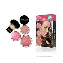 Bellapierre Kosmetická sada na tvář a rty (All About Cheeks And Lips Kit) (Odstín Coral Collection)