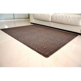Kusový koberec Udinese hnědý 80x150 cm