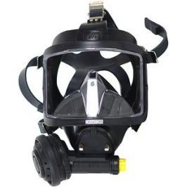INTERSPIRO Maska celoobličejová DIVATOR MK II AGA černá - podtlak