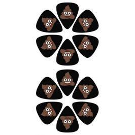 Perris Leathers Emoji Picks I Poo Trsátka