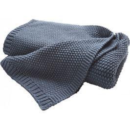 Biederlack Cosy Luxury deka modrá