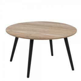 Design Scandinavia Konferenční stolek kulatý Stanfield, 80 cm