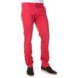 Pepe Jeans pánské kalhoty Sloane 30/32 červená