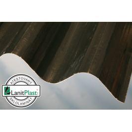 LanitPlast Sklolaminát vlna 94/35 síla 0,71 mm, zelená 0,94x2 m