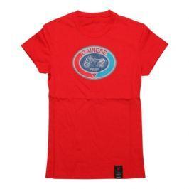 Dainese dámské triko MOTO 72 LADY vel.XL červená
