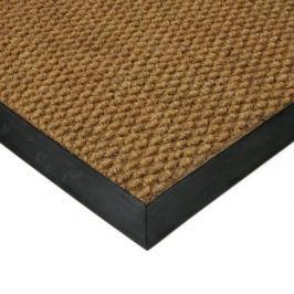 FLOMAT Béžová textilní zátěžová vstupní čistící rohož Fiona - 50 x 80 x 1,1 cm
