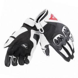 Dainese rukavice MIG C2 vel.XL Unisex, černá/bílá, kůže