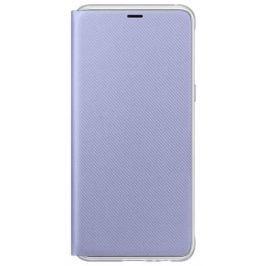 Samsung Flipové neonové pouzdro pro A8 2018, EF-FA530PVEGWW, Orchid Gray
