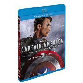 Captain America: První Avenger  3D+2D (2 disky)   - Blu-ray