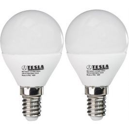 Tesla LED žárovka mini BULB, E14, 3W 2pack