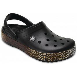 Crocs Crocband Leopard III Clog Black 37,5