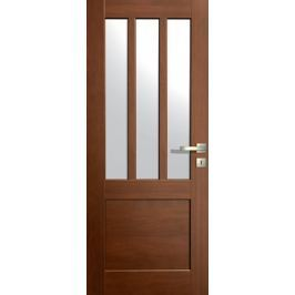VASCO DOORS Interiérové dveře LISBONA kombinované, model 5, Dub skandinávský, A
