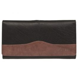 Lagen Dámská kožená peněženka Black/Brown PWL-367