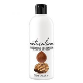 Naturalium Regenerační koupelový a sprchový gel s bambuckým máslem a makadamiovým olejem (Nuts Shea And Macadam