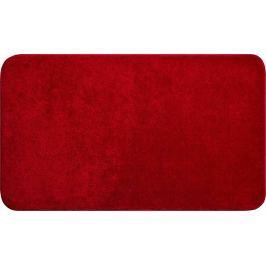 LineaDue Kvalitní česká koupelnová předložka, FANTASTIC 80x140 cm, červená
