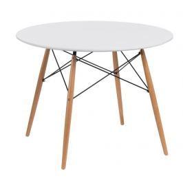 Mørtens Furniture Jídelní stůl Desire, 100 cm, bílá