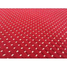 Kusový vínový koberec Birmingham 120x170 cm